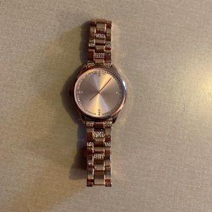 BKE rose gold watch